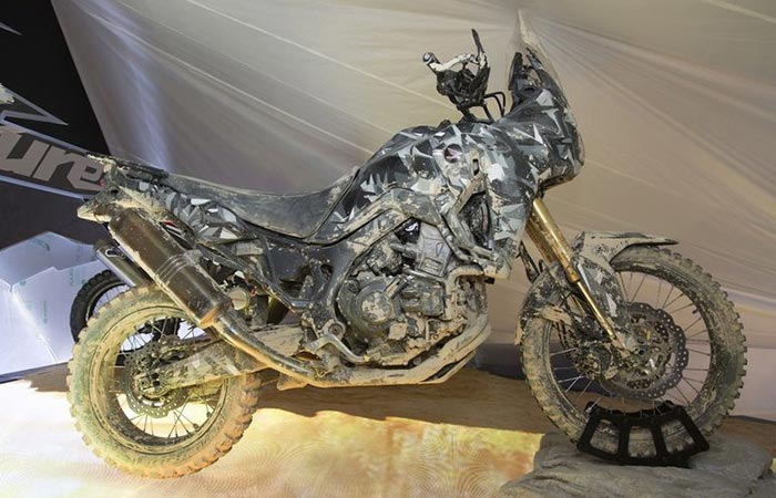 CRF1000L Africa Twin prototype