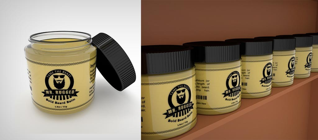 Mr. Rugged Bold Beard Balm