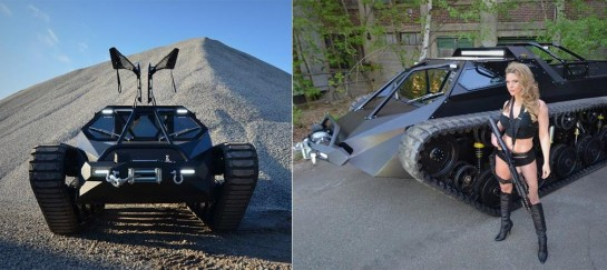 RIPSAW EV-2 LUXURY TANK | BY HOWE AND HOWE