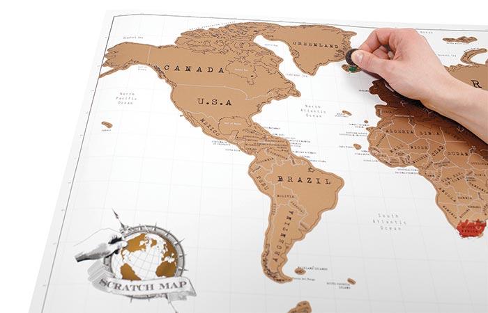 Scratch Map Original gift