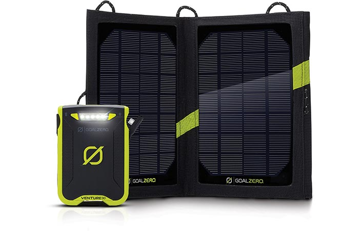 Venture 30 solar panel