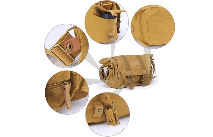 Advantage Camera Bag features