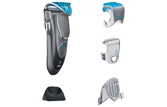 Braun Cruzer 6 Face shaver and combs