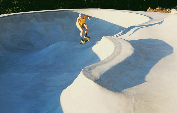 The Cinder Cone skate bowl