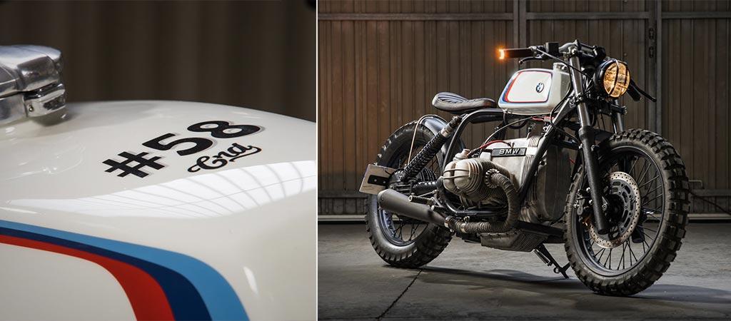 crd #58 custom bmw r100 |cafÉ racer dreams |