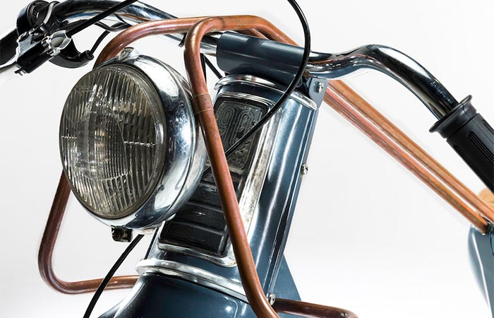 Deus Electric Motorcycle headlight
