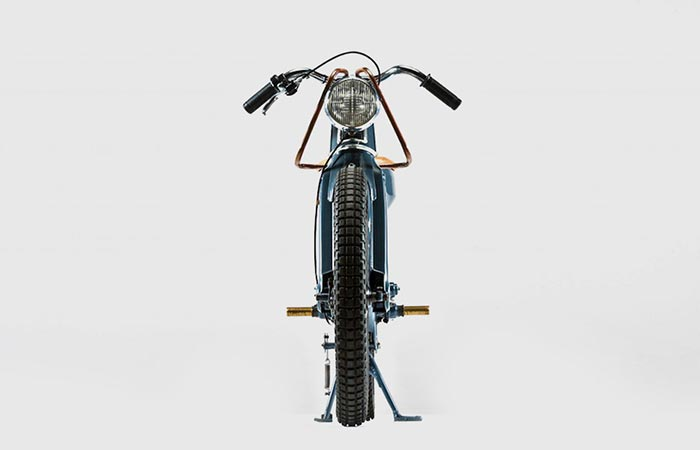 Deus Electric Motorcycle design