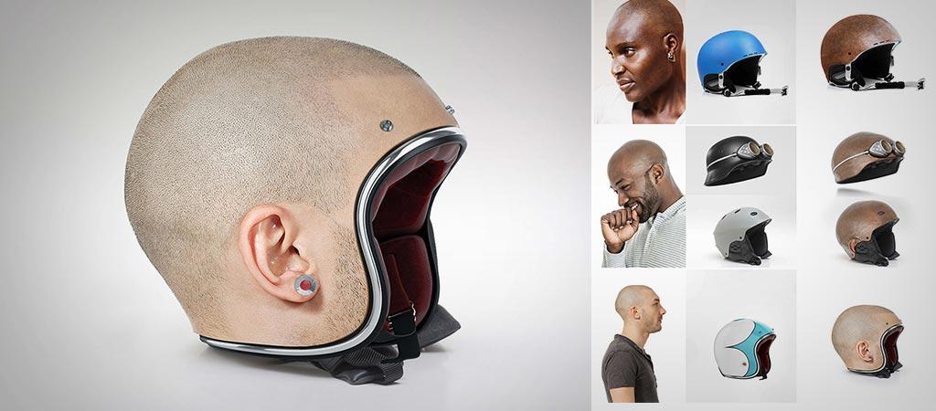 Human Head Helmets By Jyo John Mulloor