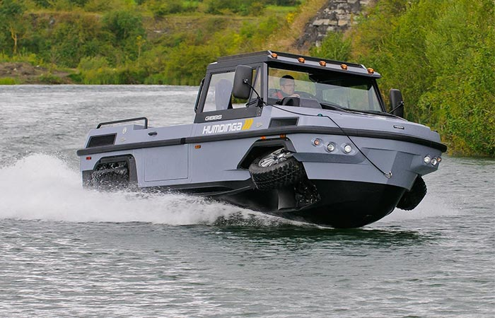 HUMDINGA AND PHIBIAN | AMPHIBIOUS VEHICLES | Jebiga Design ...