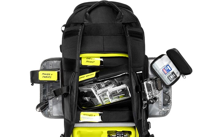 Incase Pro Pack all compartments