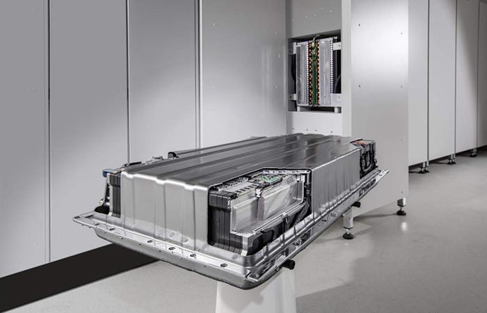 Mercedes-Benz Energy Storage Plant industrial model