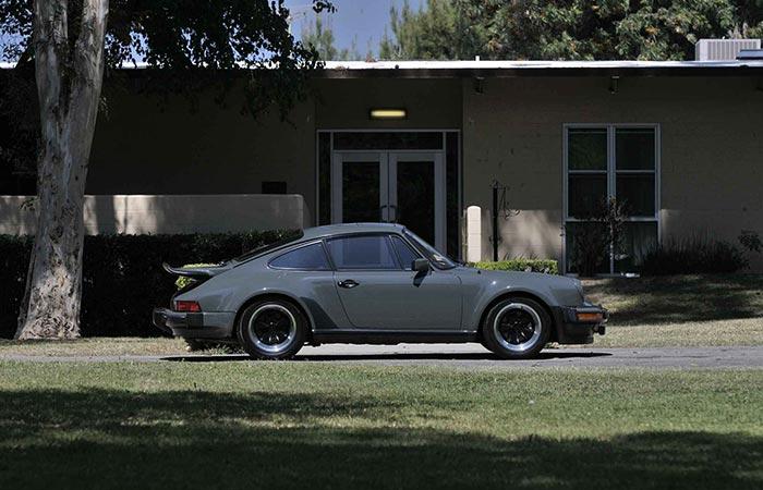 Porsche 911 Turbo alterations
