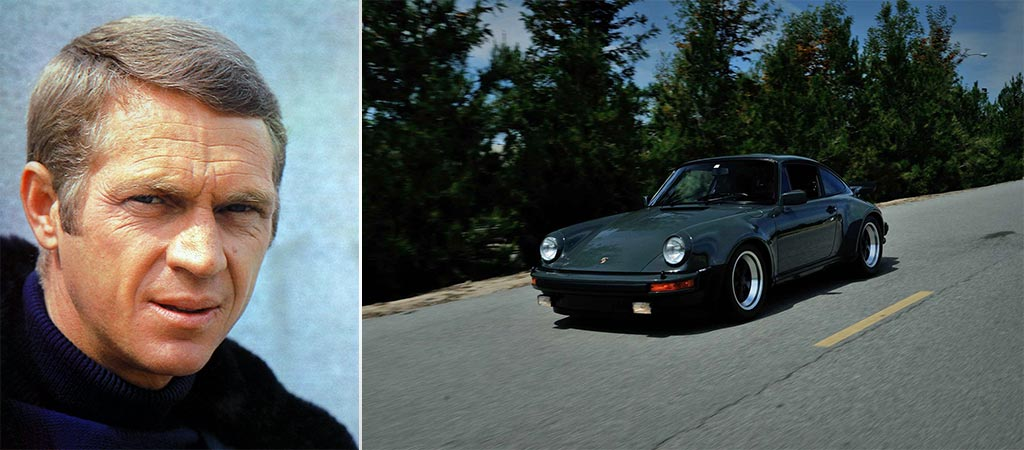 Steve McQuenn's Special Order Porsche 911 Turbo