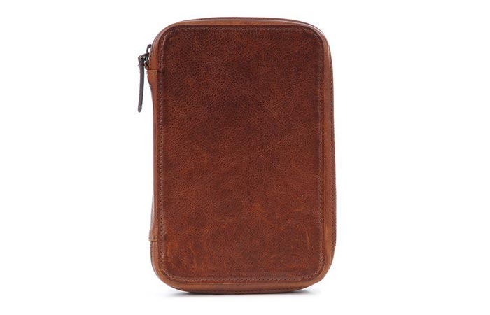 Clarendon Photo Accessories Organizer Italian leather