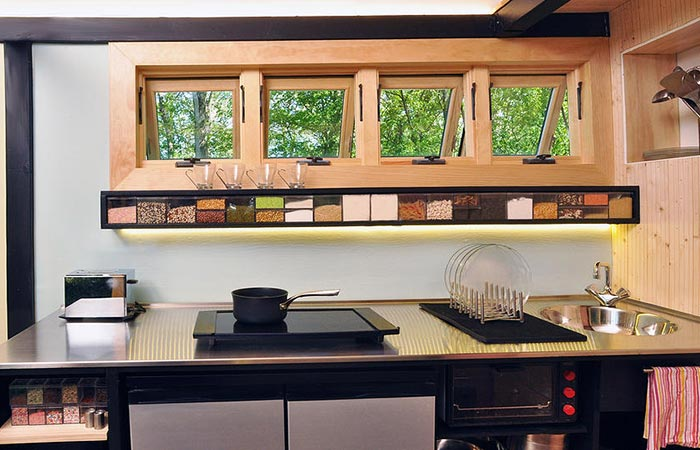 Toybox Tiny Home kitchen