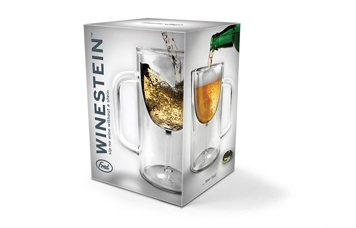 WINESTEIN Double-Walled Stemware Mug gift