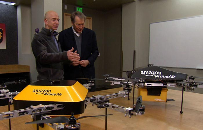 Amazon Prime Air reveal