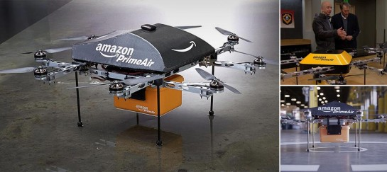AMAZON PRIME AIR | AMAZON'S DRONE DELIVERY SYSTEM