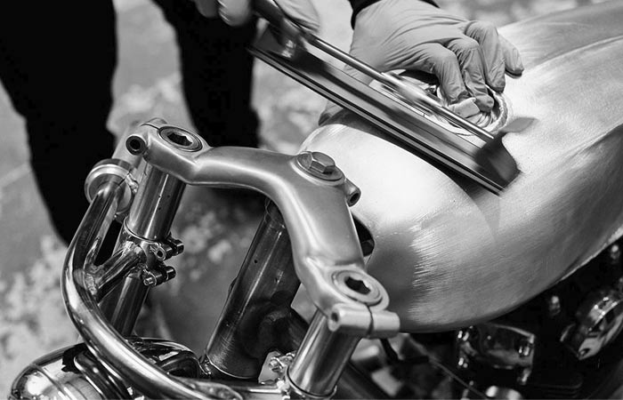 Making of the Auto Fabrica Type 6 Yamaha XS650