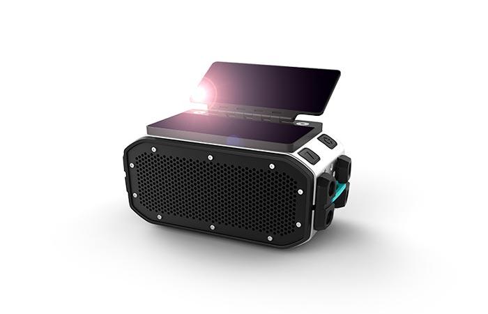 Braven BRV-Pro solar charging