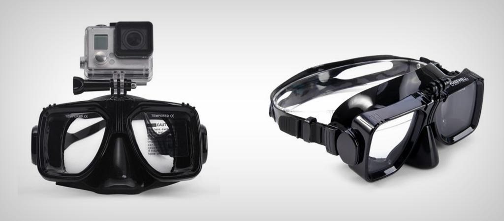 Diving Goggles with GoPro Mount