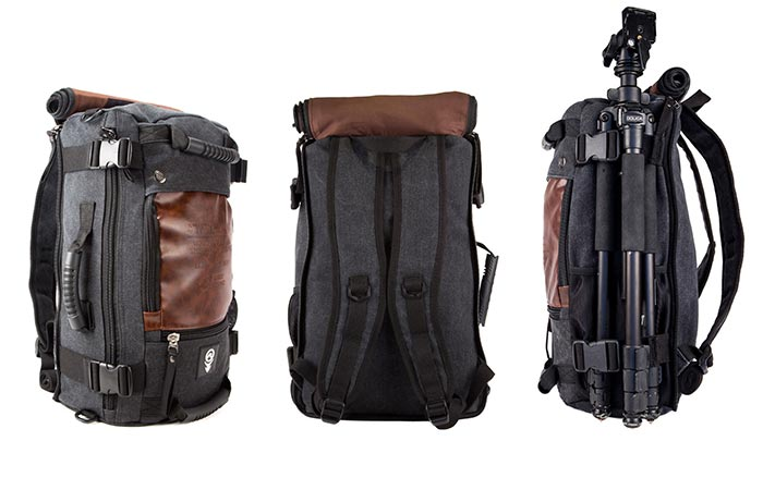 Drifter Backpack straps