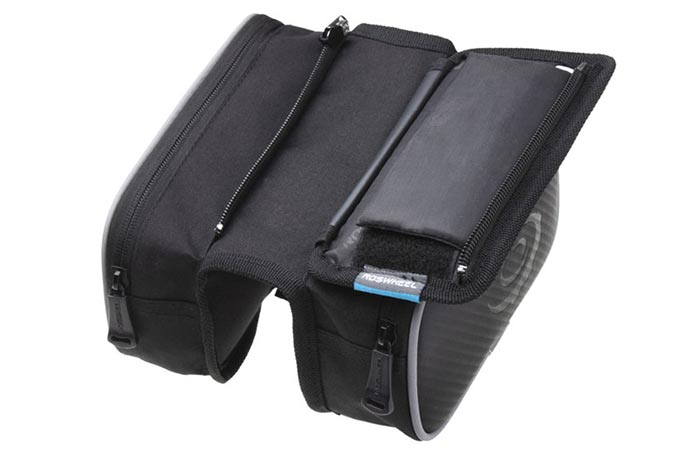Roswheel Bicylce Dual Pouch phone pocket security