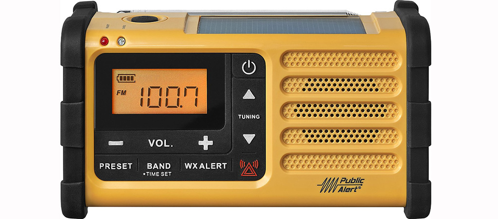 SANGEAN MMR-88 SURVIVAL AND EMERGENCY RADIO