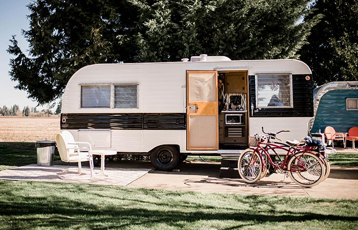 The Vintages Trailer Resort trailer types
