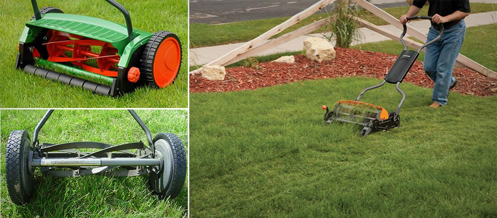 Top Push Reel Mowers