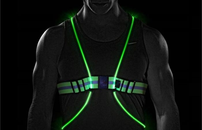 Tracer360 Visibility Vest technology