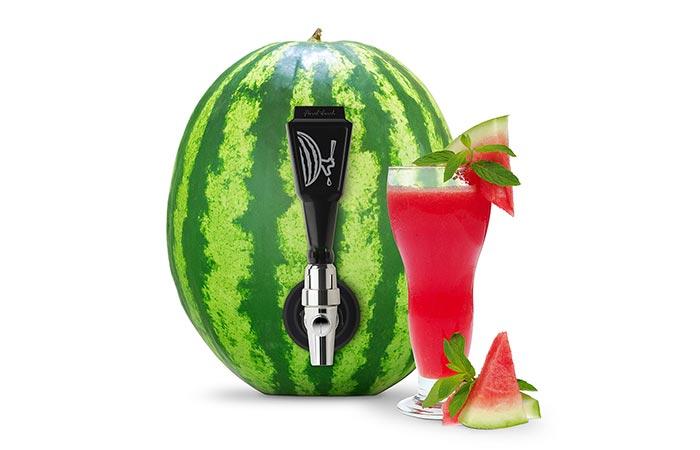 Watermelon Tap Kit use