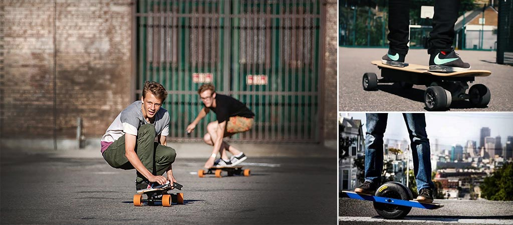 8 Electric Skateboards that Will Change the Way You Look at Commuting