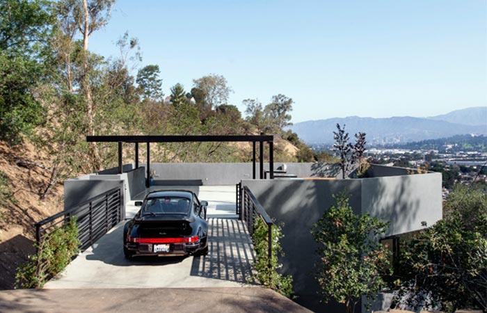 Car Park House view
