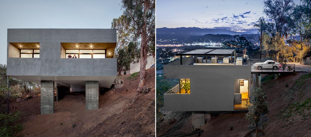 Car Park House by Anonymous