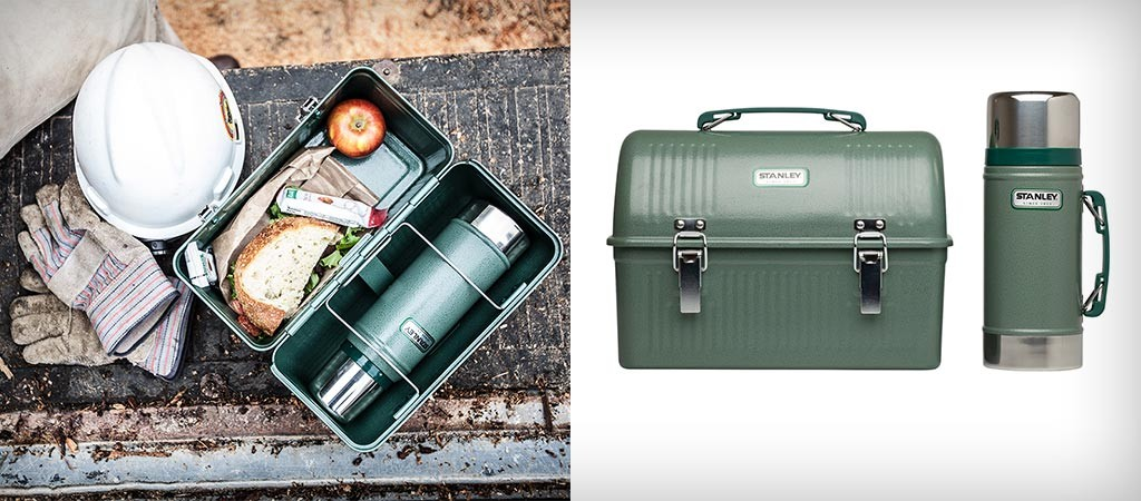 Classic Lunch Box And Vacuum Thermos By Stanley Jebiga