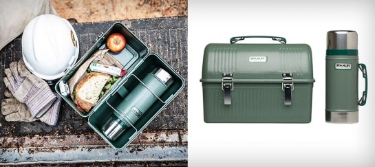 CLASSIC LUNCH BOX AND VACUUM THERMOS BY STANLEY