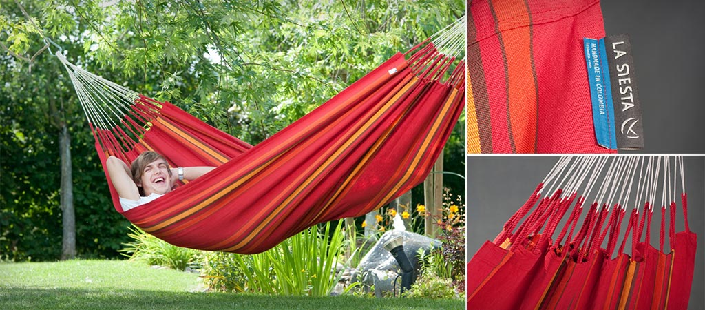 Currambera Colombian Double Hammock | By La Siesta