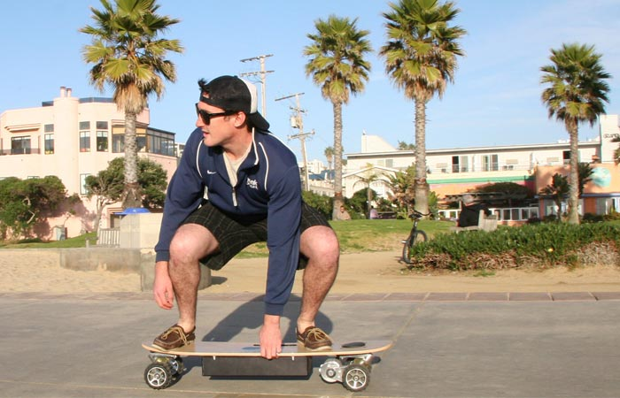 Commuting with electric skateboards