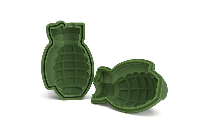 Grenade Ice Cube Mold material