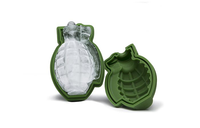 Grenade Ice Cube Mold themed parties