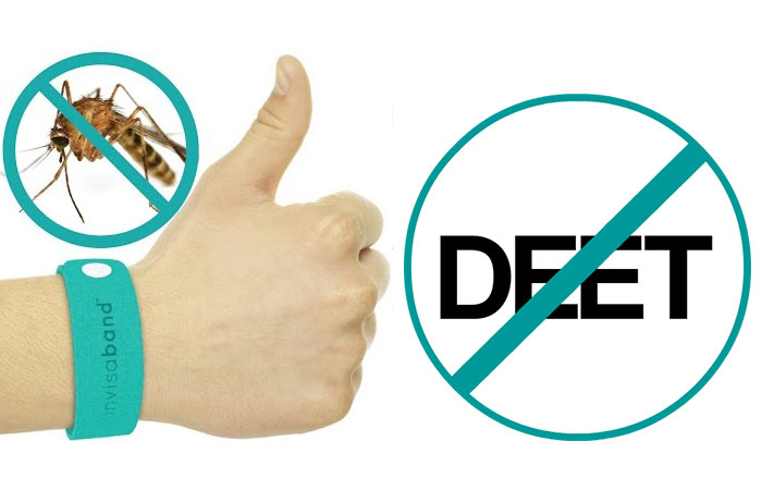 Invisaband is DEET free