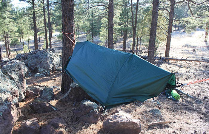 Lawson Blue Ride Tent And Hammock In-One rainfly