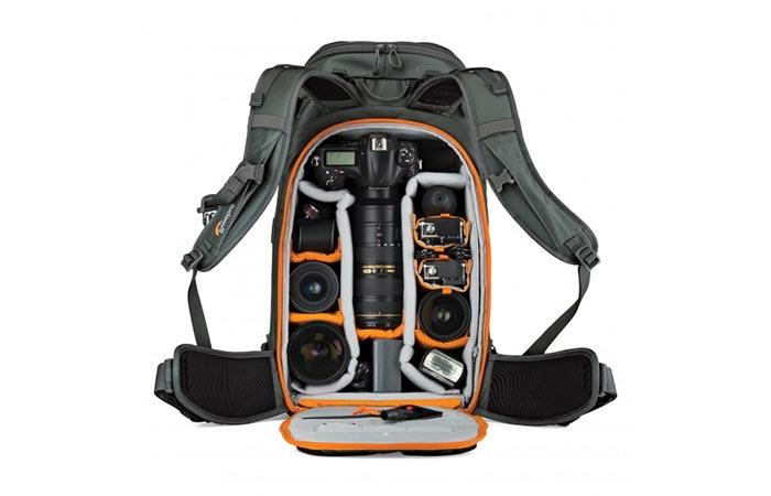 Lowepro Whistler Backpack storage