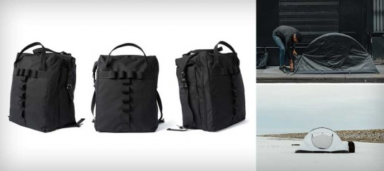 MOEDAL & TOTEM BACKPACK & TENT IN-ONE