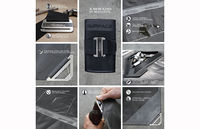 Matador surface accessories
