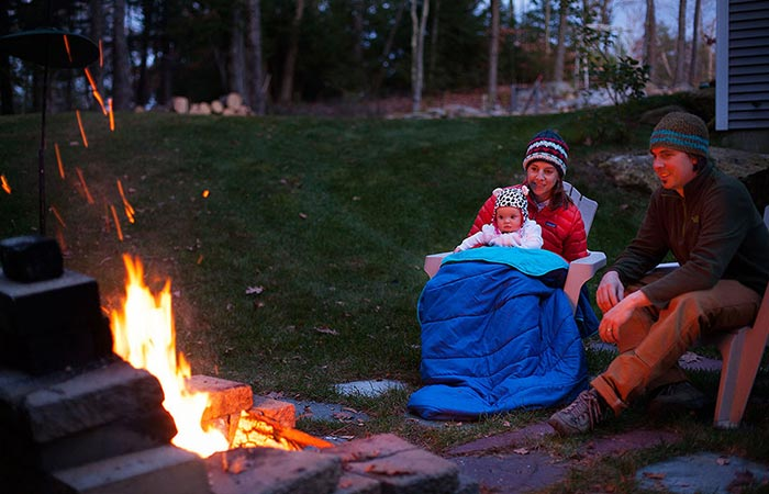 NEMO Puffin Blanket outdoor use