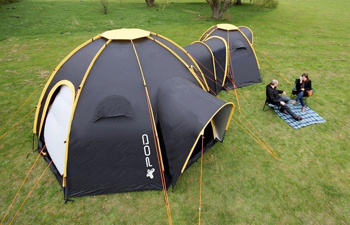 POD Tents convenience