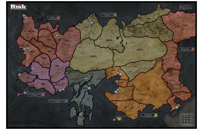 Risk: Game of Thrones Edition Essos