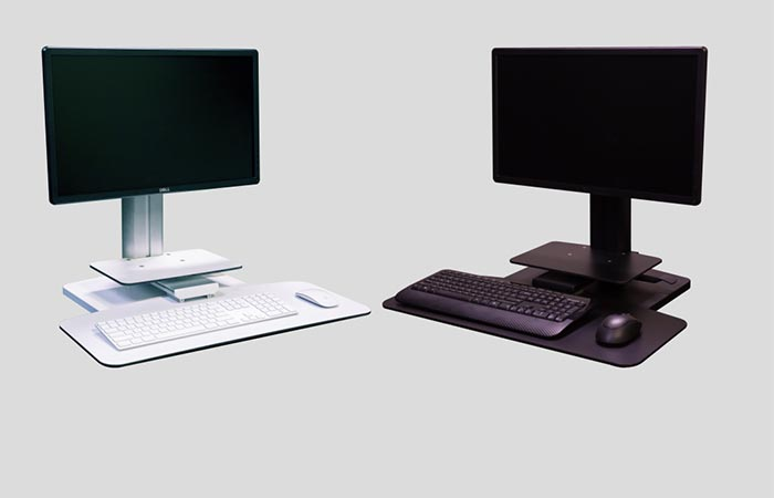 Sit2Stand Height Adjustable Workstation color variations